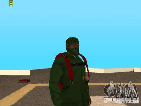 Парашют из TBOGT v2 для GTA San Andreas третий скриншот