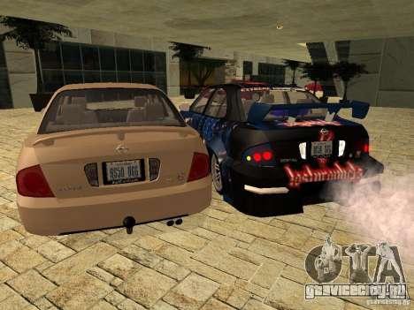 Nissan Sentra для GTA San Andreas вид слева