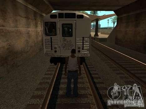 Поезд из GTA IV для GTA San Andreas вид сзади
