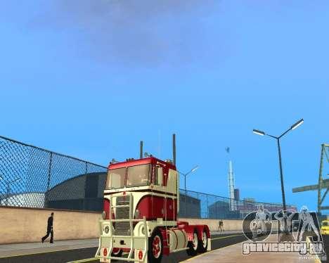 Kenworth K100 для GTA San Andreas