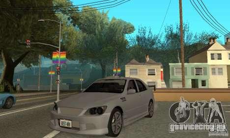 DRIFT CAR PACK для GTA San Andreas двенадцатый скриншот
