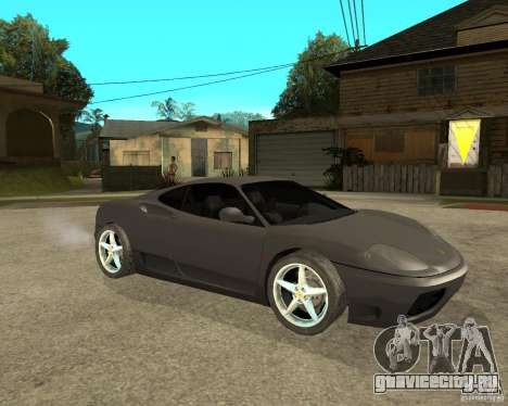 Ferrari 360 modena TUNEABLE для GTA San Andreas вид справа