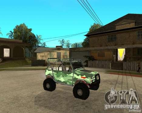 УАЗ 469 HUNTER для GTA San Andreas вид справа
