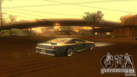 Nissan Silvia S15 для GTA San Andreas вид сзади слева