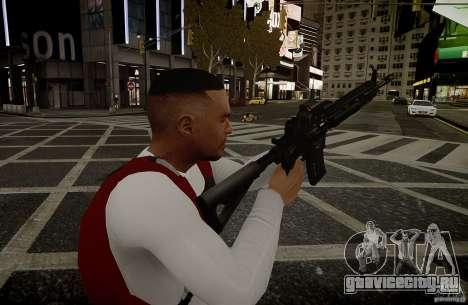 HK416 (автомат) для GTA 4 четвёртый скриншот