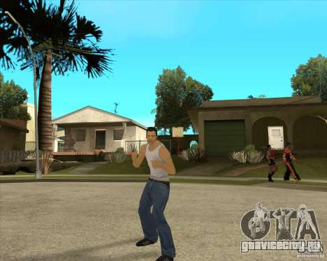 Скин Tommy Vercetti v1 FINAL для GTA San Andreas второй скриншот