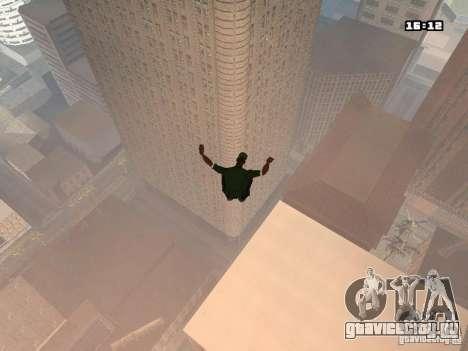 Паркур Мод для GTA San Andreas четвёртый скриншот