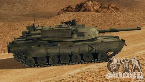 M1A2 Abrams для GTA 4 вид слева