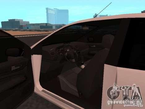 Ford Focus II для GTA San Andreas вид справа