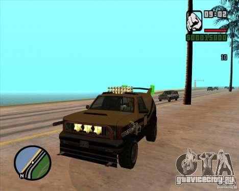 Death Car - машина смерти для GTA San Andreas четвёртый скриншот