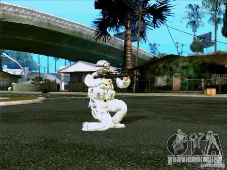 Morpeh в электронном камуфляже для GTA San Andreas второй скриншот