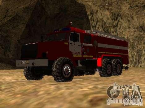 Урал 43206 АЦ 3.0-40 (6x6) для GTA San Andreas