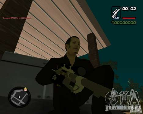 Sniper для GTA San Andreas второй скриншот