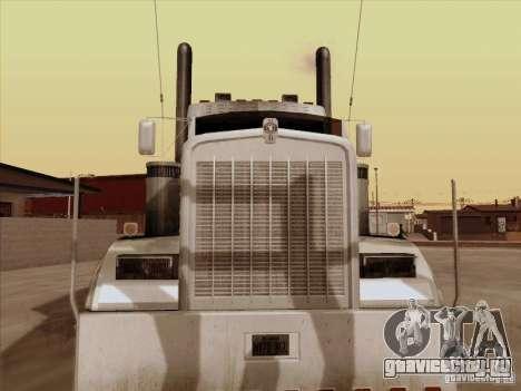Kenworth W 900 RoadTrain для GTA San Andreas вид слева