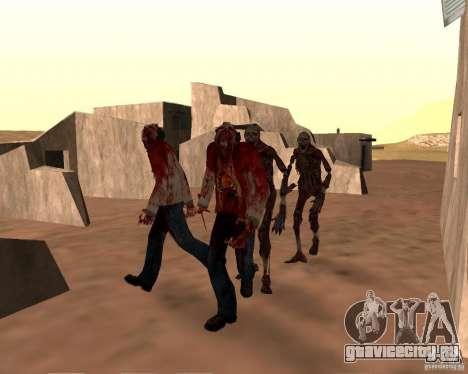 Zombie Half life 2 для GTA San Andreas шестой скриншот