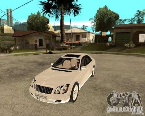 Maybach 57 S для GTA San Andreas