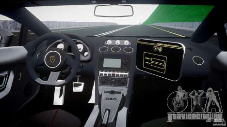 Lamborghini Gallardo LP570-4 Superleggera 2011 для GTA 4 вид справа