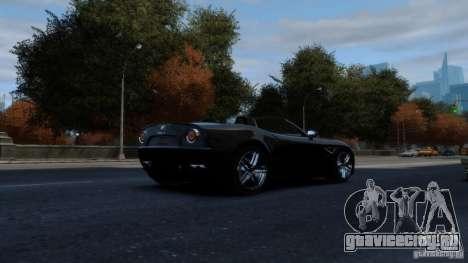 Alfa Romeo 8C Competizione Spider v1.0 для GTA 4 вид сзади