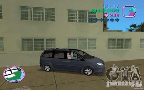 Citroen C8 для GTA Vice City вид справа