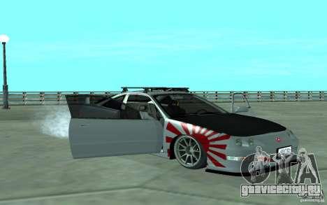 Acura Integra Type-R для GTA San Andreas вид сбоку