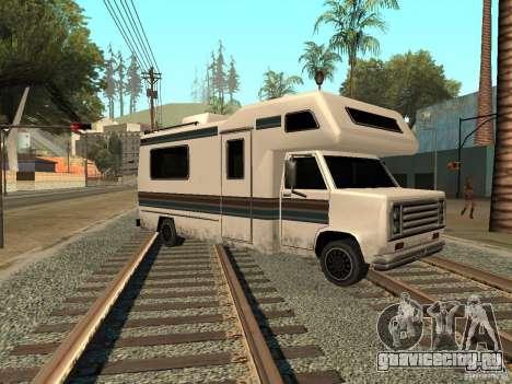 Дом на колёсах для GTA San Andreas