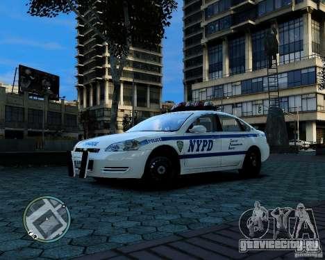 NYPD Chevrolet Impala 2006 [ELS] для GTA 4