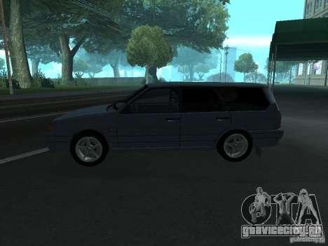 ВАЗ 2114 универсал для GTA San Andreas вид слева