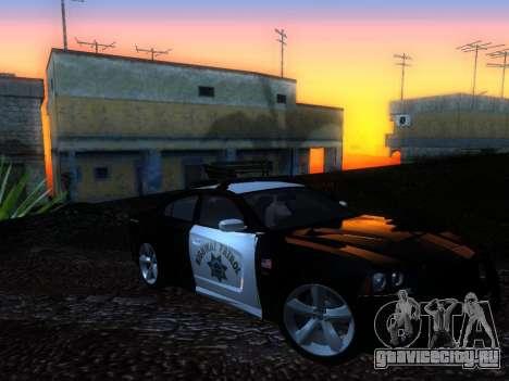 Dodge Charger SRT8 Police для GTA San Andreas вид справа