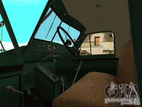 ГАЗ 51 Автокран для GTA San Andreas вид сзади
