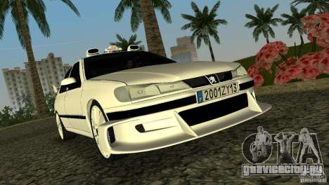 Peugeot 406 Taxi 2 для GTA Vice City