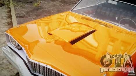 Dodge Dart GT 1975 [Final] для GTA 4 вид сверху