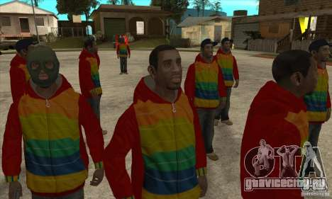 Райдер - Плейбой Х для GTA San Andreas четвёртый скриншот