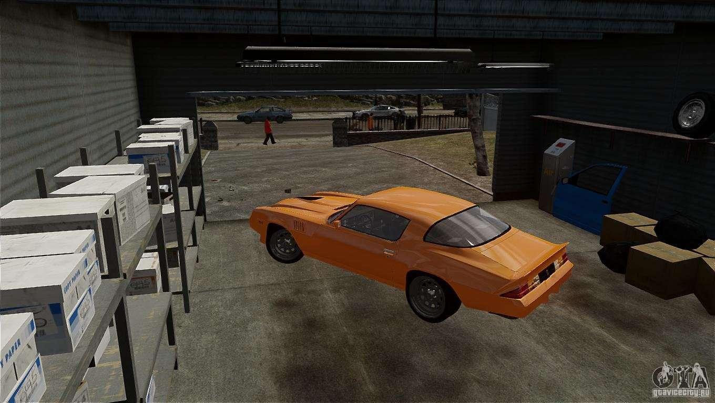 3D Модель Машины Camaro