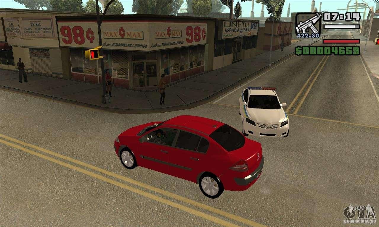 CLEO скрипты для GTA San Andreas - Проехал на красный - получи звезду с авт