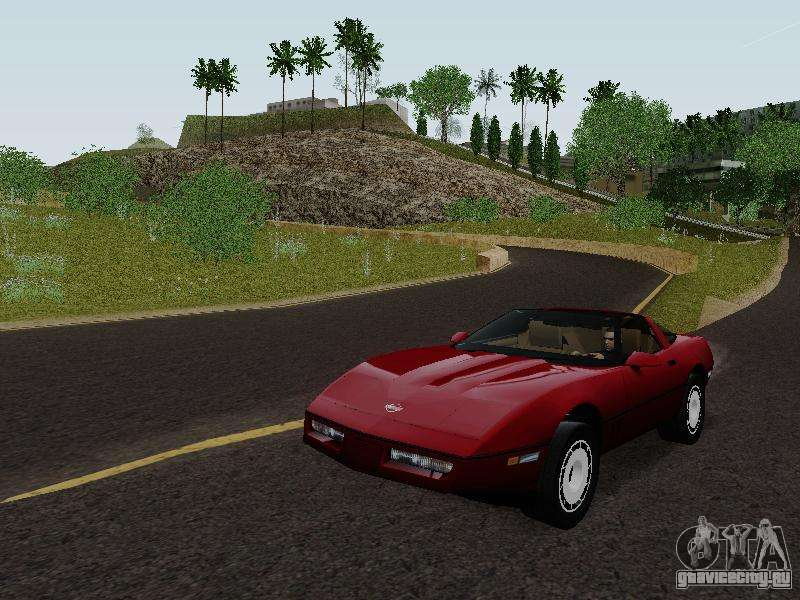 Chevrolet Corvette C4 1984 Gta San Andreas