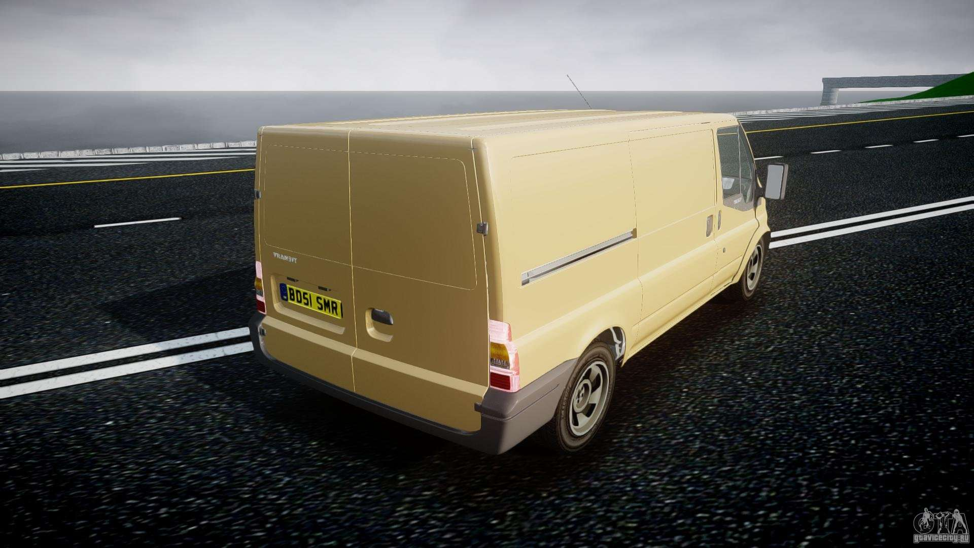 Ford transit 2009 gta 4