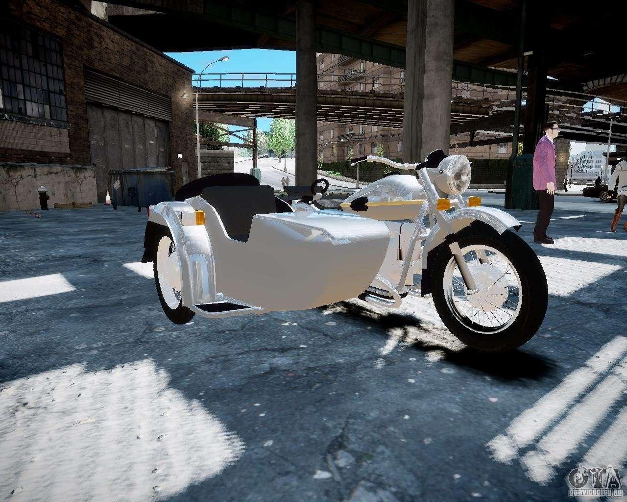 кроссовый мотоцикл урал с коляской #8