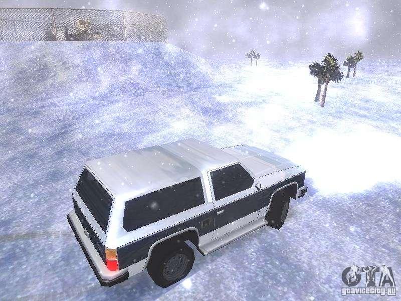 скачать мод на снег на Gta San Andreas - фото 4