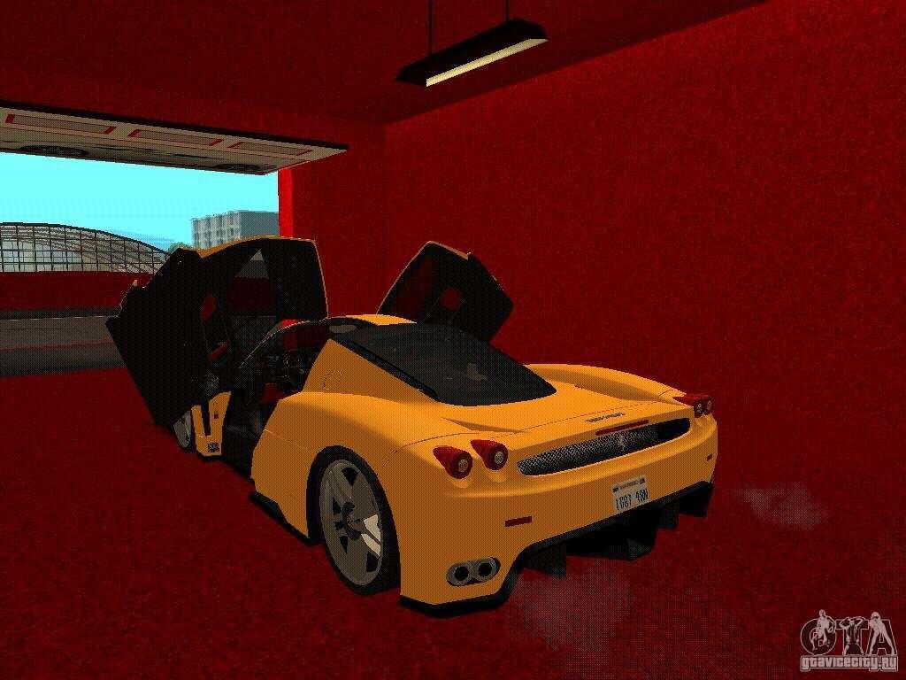 Новый автосалон ferrari в сан фиеро для gta