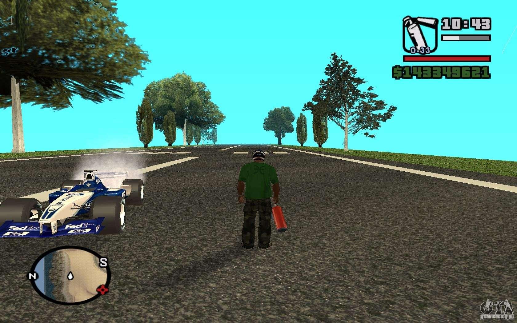 Коды на GTA San Andreas (читы для) 56