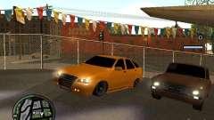 Lada Priora DagStailing для GTA San Andreas