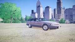 Chevrolet Caprice Civil 1992 v1.0 для GTA 4