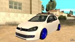 Volkswagen Golf MK6 Hybrid GTI JDM для GTA San Andreas