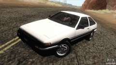 Toyota Sprinter Trueno AE86 GT-Apex для GTA San Andreas