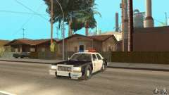 Ford LTD Crown Victoria Interceptor LAPD 1985 для GTA San Andreas