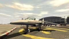 Liberty City Air Force Jet (с шосси)