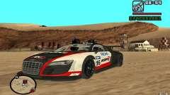 Audi R8 LMs для GTA San Andreas