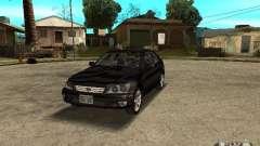 Lexus IS300 чёрный для GTA San Andreas