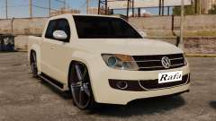 Volkswagen Amarok Light Tuning для GTA 4