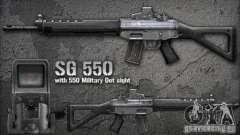[Point Blank] SG550 для GTA San Andreas